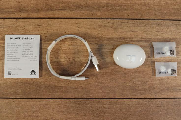 Huawei FreeBuds 4i Kopfhoerer Lieferumfang