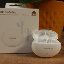 Huawei FreeBuds 4i Kopfhoerer mit Verpackung