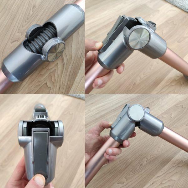 Jimmy H9 Pro Akkusauger flexibles Saugrohr knickbar