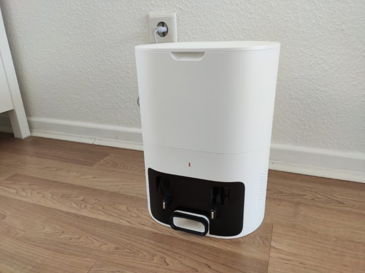 Lydsto R1 Saugroboter Absaugstation Design ohne Roboter