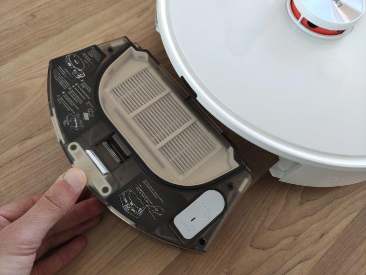 Lydsto R1 Saugroboter Staubkammer entnehmen