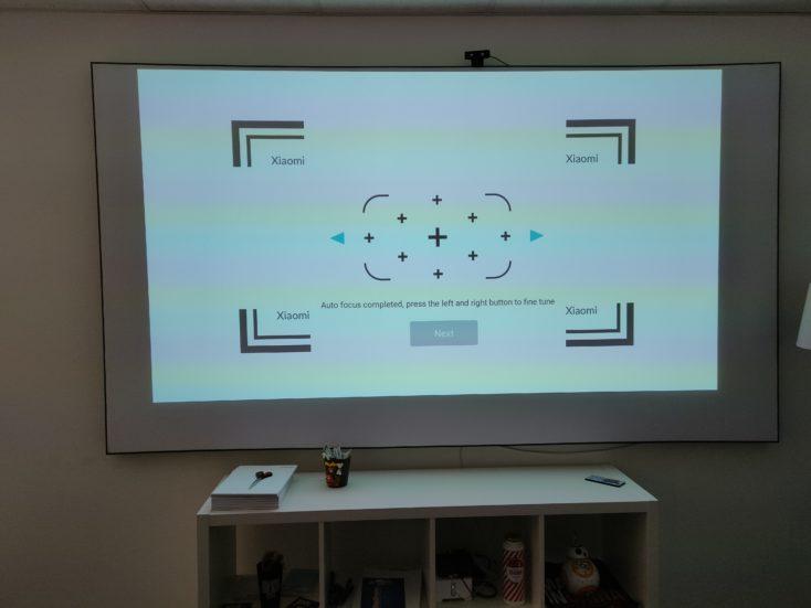 Mi Smart Projector 2 Pro Trapezkorrektur