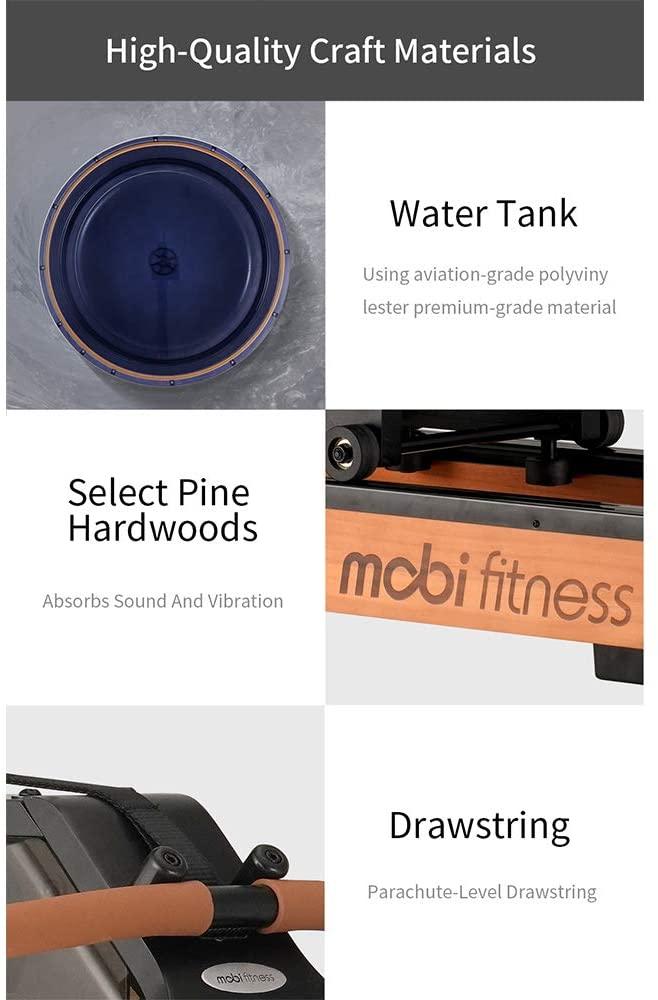 Mobi Fitness Wasser Rudergeraet Materialien