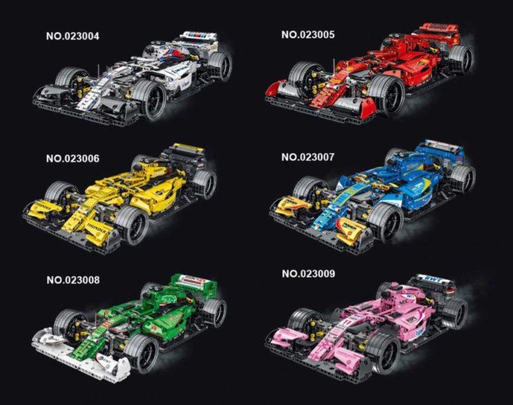 Mork Formel 1 Vergleich