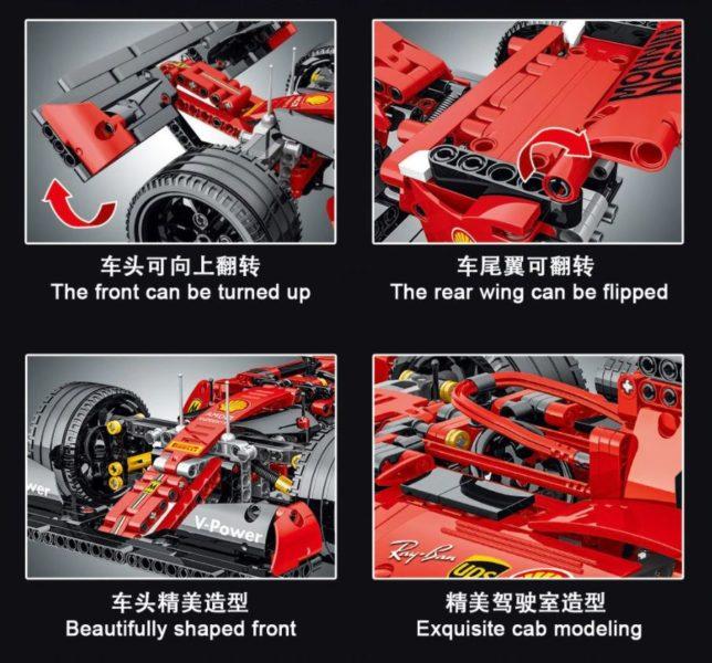 Mork Formel 1 Wagen Funktionen