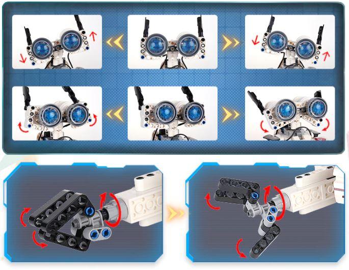 Mould King Roboter Gesichtsausdruck