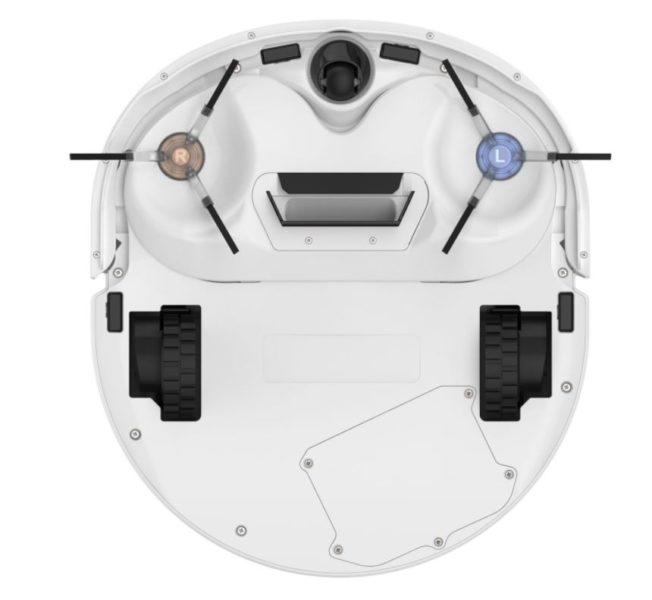 Narwal J1 Pro selbstreinigender Saug-Wischroboter Unterseite ohne Wischfunktion
