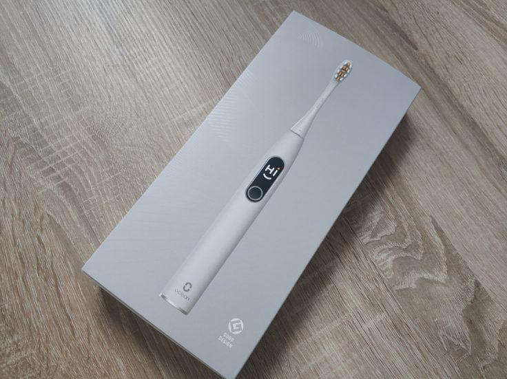 Oclean X Pro Elite elektrische smarte Zahnbürste Verpackung