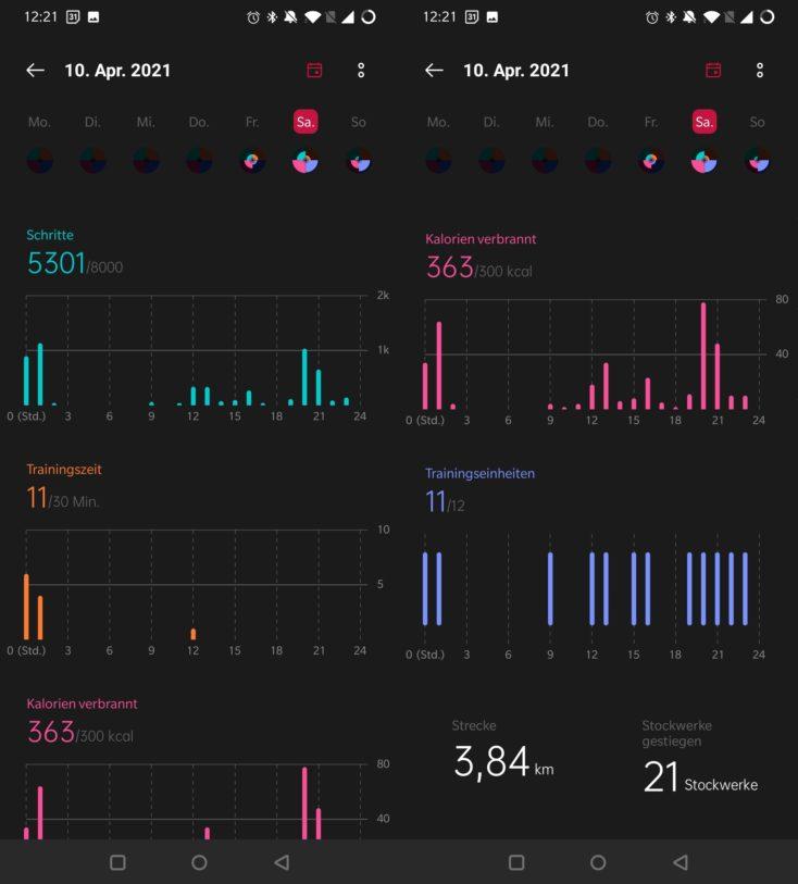 OnePlus Watch App Tracking e1623249765659