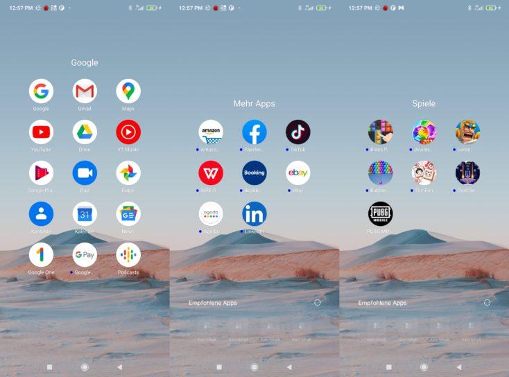 POCO F3 Apps
