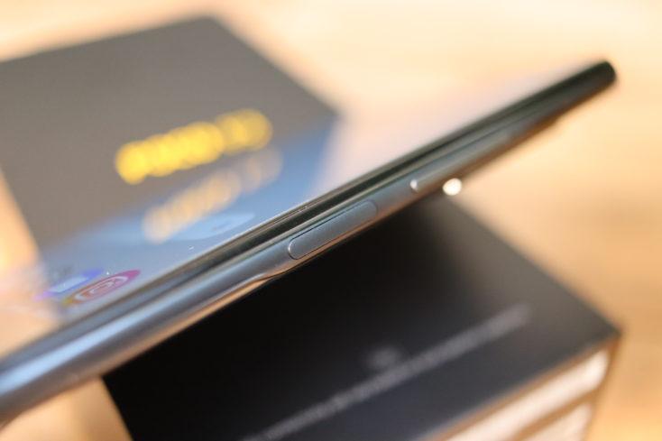 POCO F3 Fingerabdrucksensor an der Seite