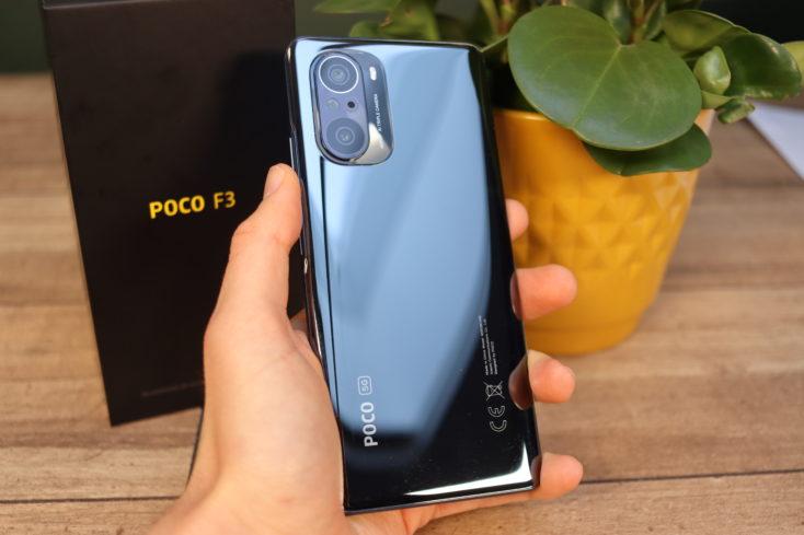 POCO F3 Smartphone Rueckseite