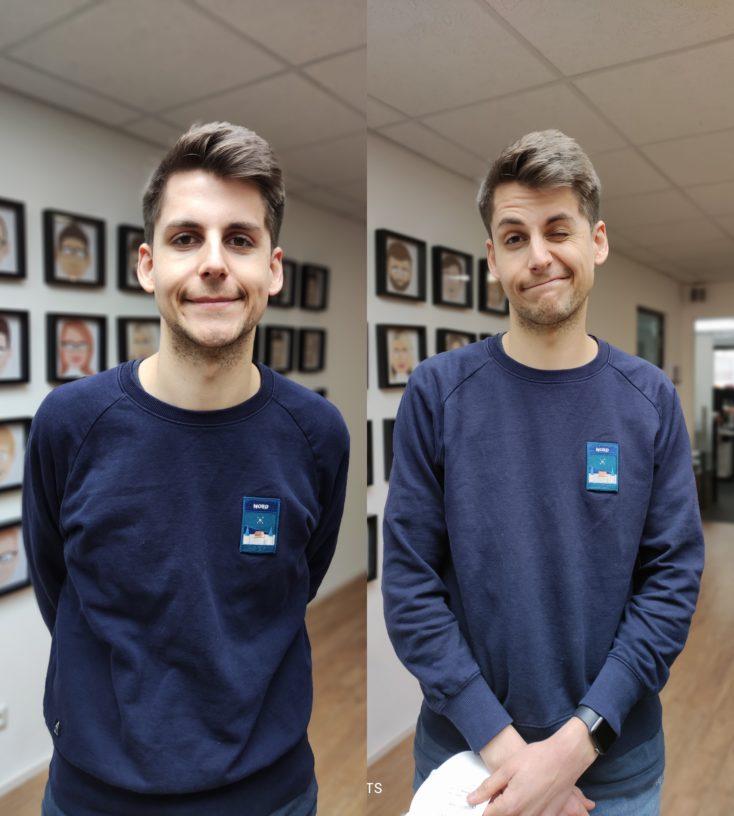 POCO F3 vs POCO F2 Pro Testfoto Portrait
