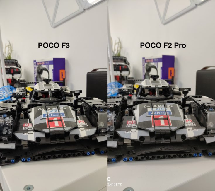 POCO F3 vs POCO F2 Pro Vergleichsfoto