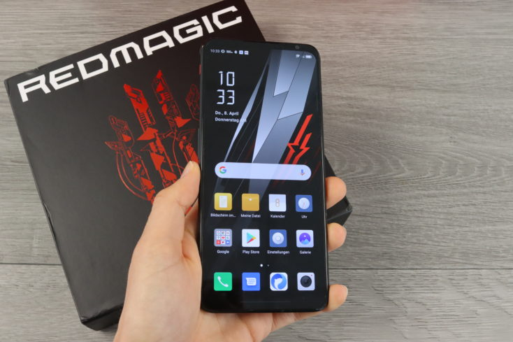 RedMagic 6 Smartphone in Hand