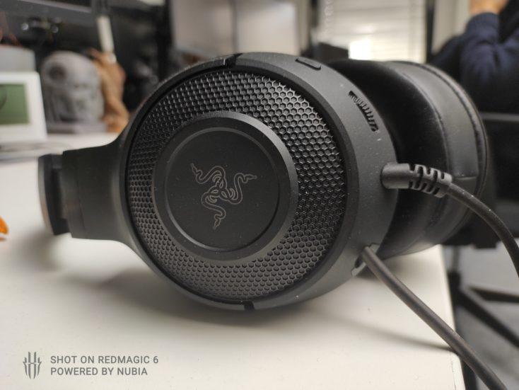 RedMagic 6 Testfoto Schaerfe Headset