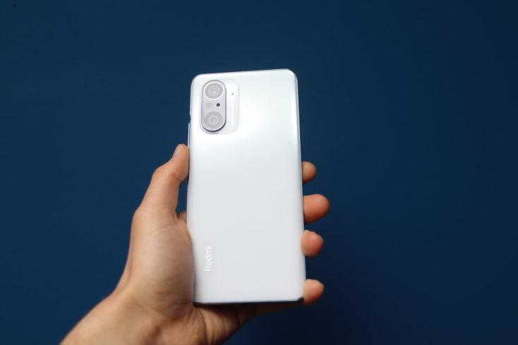 Redmi K40 Pro Smartphone Rueckseite Weiss 2