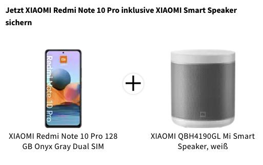 Redmi Note 10 Pro Aktion mediamarkt