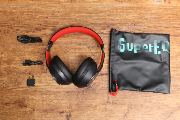 SuperEQ S1 Kopfhoerer Lieferumfang