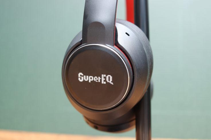 SuperEQ S1 Kopfhoerer von der Seite
