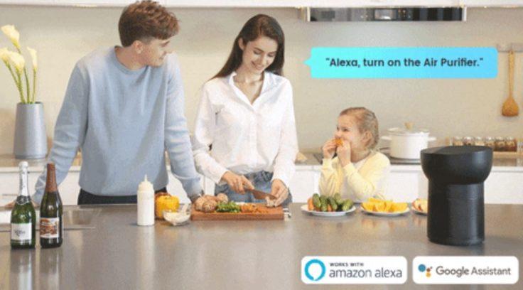 TCL Breeva A2 und A3 Luftreiniger Sprachsteuerung Alexa Google