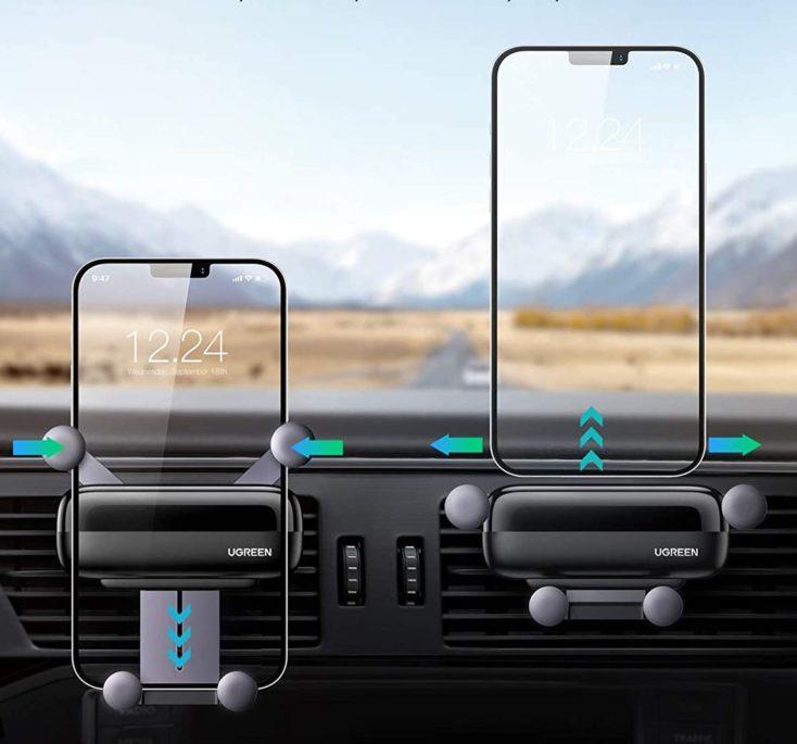 UGREEN KFZ Smartphonehalterung Verriegelung