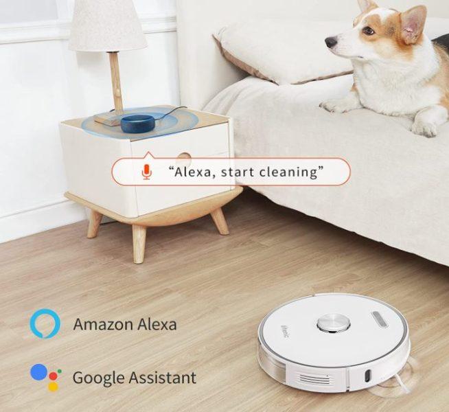 Ultenic T10 Saugroboter mit Absaugstation Sprachsteuerung Alexa Google