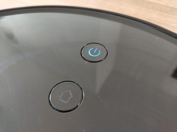 Viomi S9 Saugroboter Bedienelement Oberseite