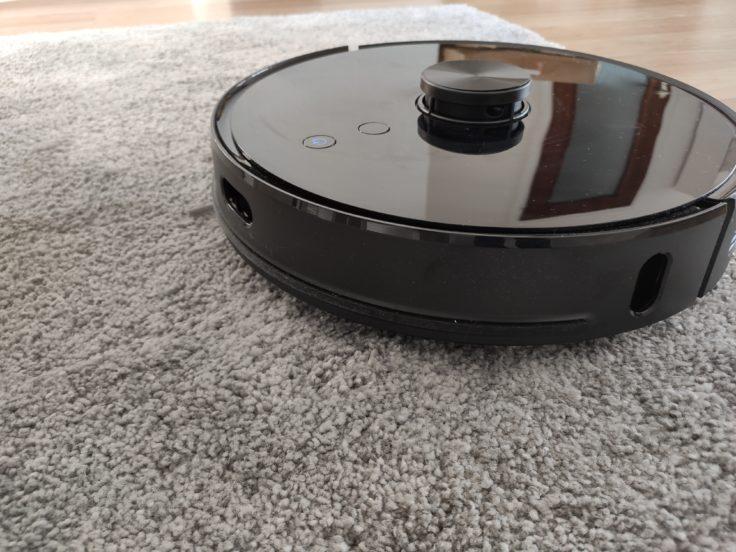 Viomi S9 Saugroboter Performance auf Teppich
