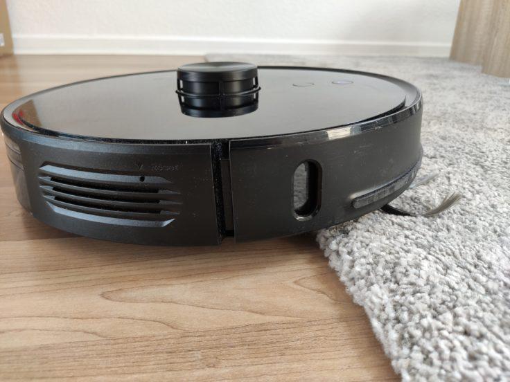Viomi S9 Saugroboter Teppichkanten ueberwinden