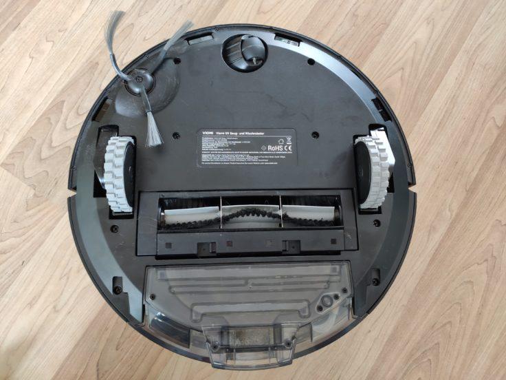 Viomi S9 Saugroboter Unterseite