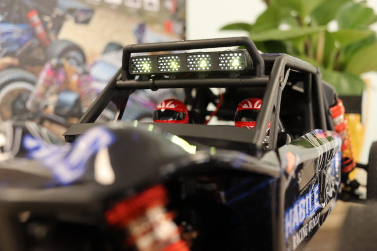 Wltoys 124018 RC Buggy Licht
