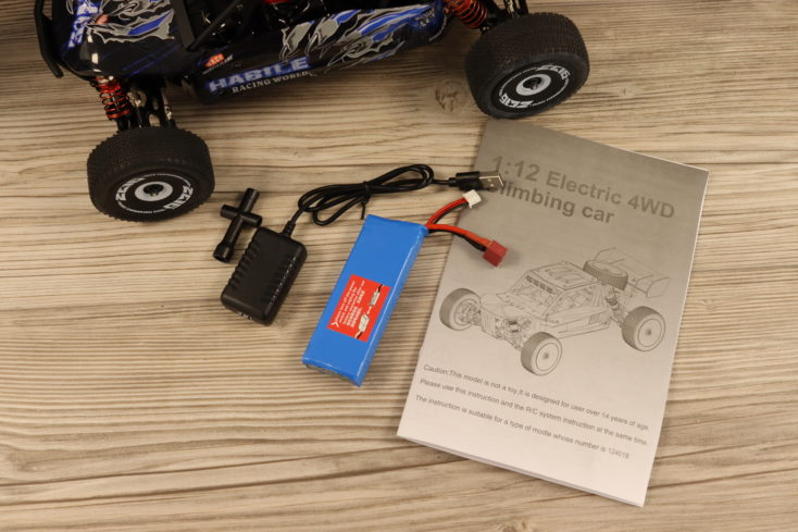 Wltoys 124018 RC Buggy Lieferumfang