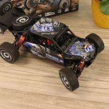 Wltoys 124018 RC Buggy von Oben