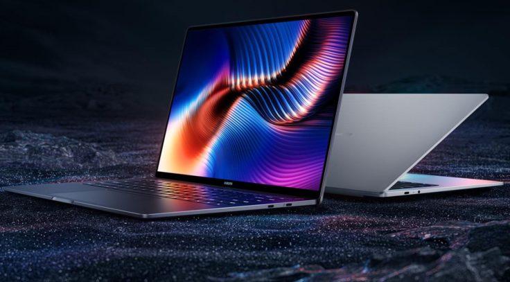 Xiaomi Laptop Pro 15 Notebook Seitenansicht