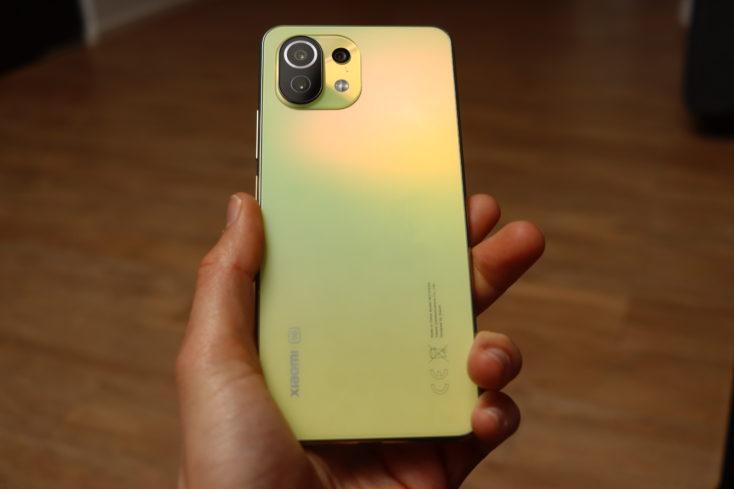 Xiaomi Mi 11 Lite 5G Rueckseite 2