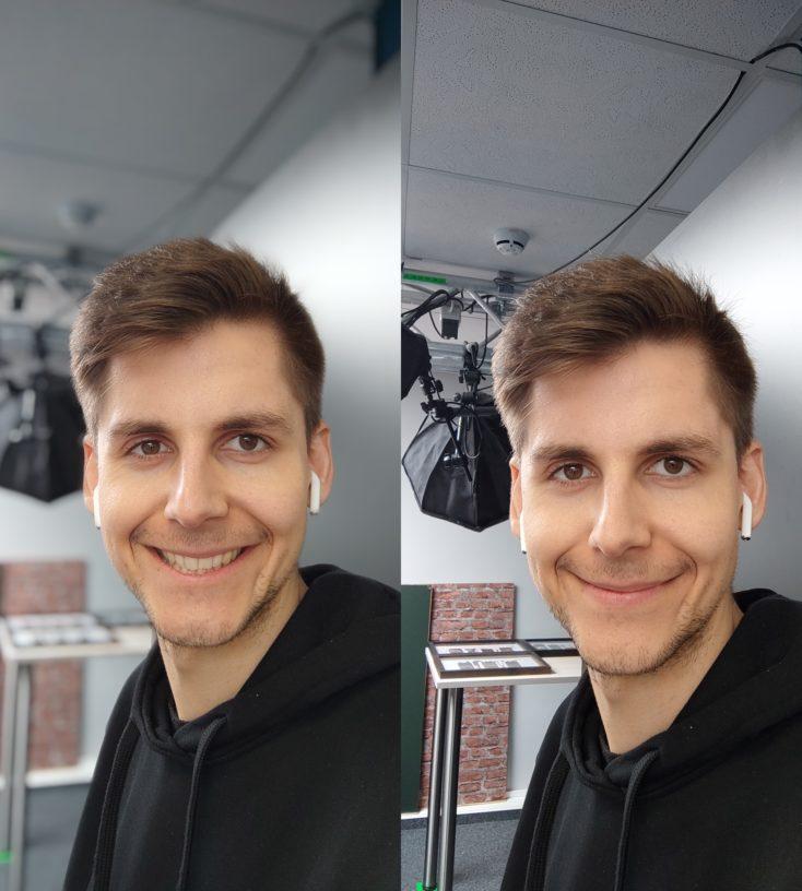 Xiaomi Mi 11 Lite 5G Selfiekamera Testfoto Portrait