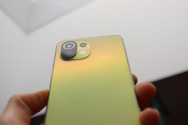 Xiaomi Mi 11 Lite 5G Verarbeitung Rueckseite