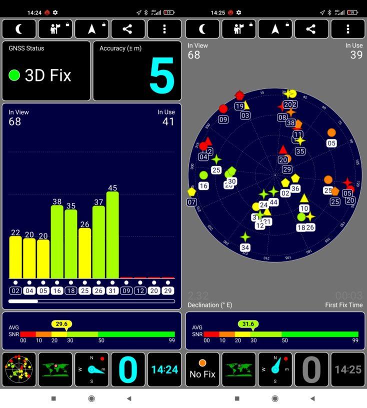 Xiaomi Mi 11 Ultra GPS Fix