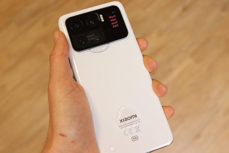 Xiaomi Mi 11 Ultra IP68 rating