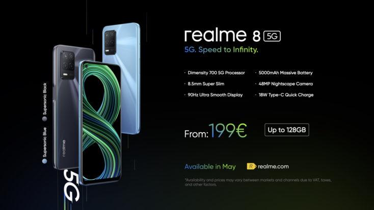 Realme 8 5G Preis