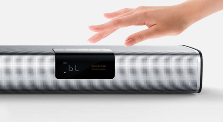 BINNIFA Live 1T Soundbar Touchbedienung