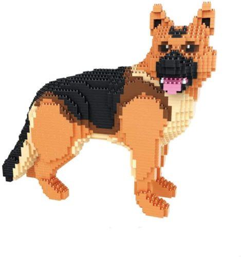BlueBrixx Pro 102519 Deutscher Schaeferhund