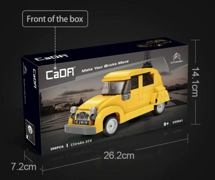 CaDA Citroen CV2 Ente Box
