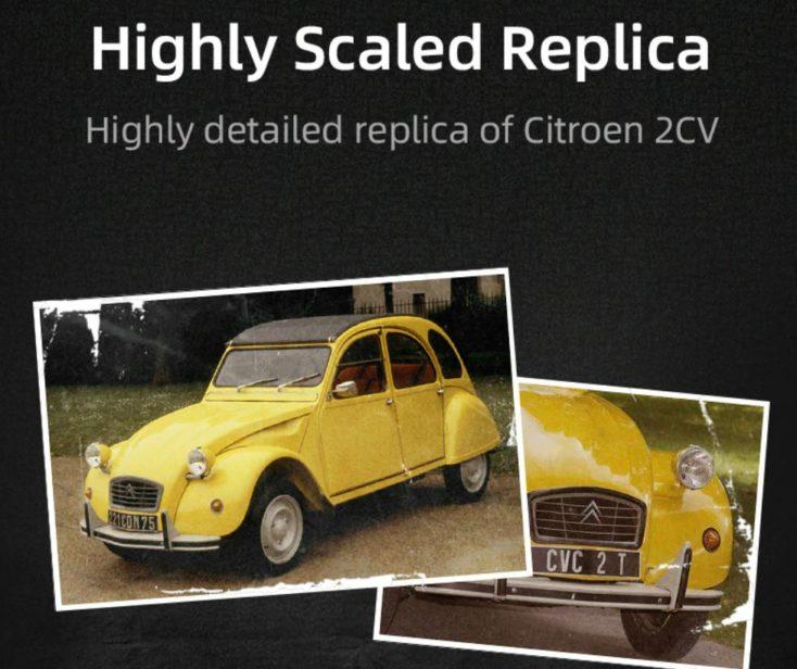 CaDA Citroen CV2 Ente Replica