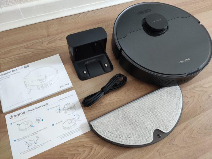 Dreame Bot L10 Pro Saugroboter Lieferumfang