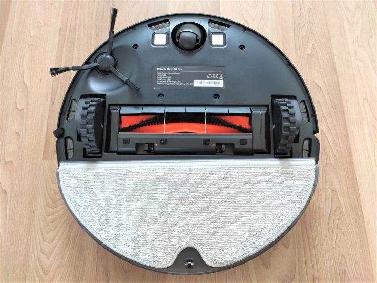 Dreame Bot L10 Pro Saugroboter Wischfunktion auf Unterseite angebracht