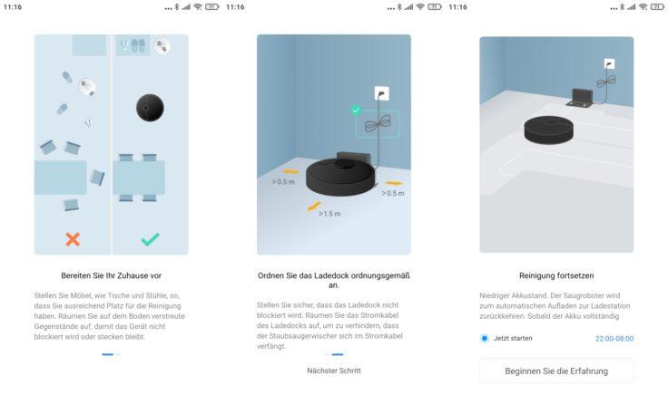 Dreame Bot L10 Pro Saugroboter Xiaomi Home App Vorbereitung