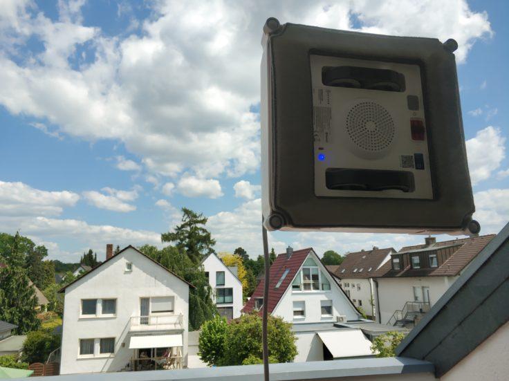 Ecovacs Winbot 920 Fensterputzroboter Fenster reinigen