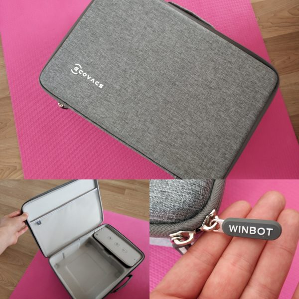 Ecovacs Winbot 920 Fensterputzroboter Tragetasche
